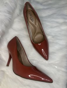 Sapato Scarpin Verniz Blush, Beira Rio Conforto