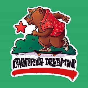 CALIFORNIA DREAMIN - Adesivo