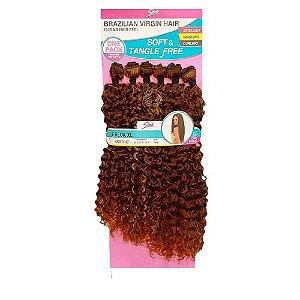 Cabelo Freda XL 260g cor HL433/613+1427  Loiro mel com cobre - Brazilian Virgin Hair
