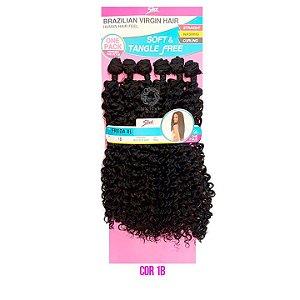 Cabelo Freda XL 260g cor 1 -Preto  - Brazilian Virgin Hair
