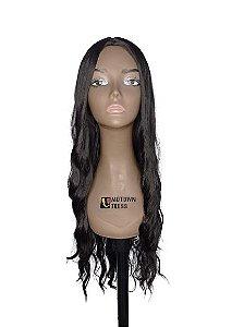 Peruca  Rachel ( cor 2 castanho escuro ) 280g -Morden Girl  + Touca Wig Cap