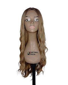 Peruca Rachel ( cor R6/8A loiro mel  ) 280g -Morden Girl + Touca Wig Cap