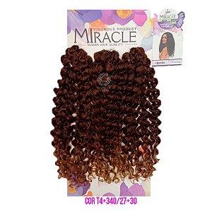 Cabelo Miracle Helena 220g ( T4+340/27+30 LOIRO MEL MESCLADO COM COBRE )