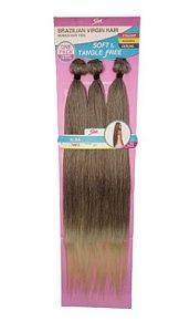 Cabelo Alba Brazilian Virgin Hair (cor T4/613)