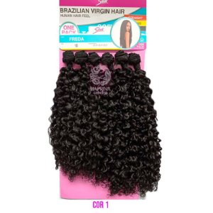 Cabelo Freda 260g - Brazilian Virgin Hair  ( COR 1 - PRETO )