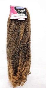 Marley Afro Twist Crochet Braids ( COR T1B /27 PRETO COM LOIRO MEL ) 110G – Cherey