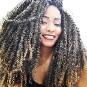 Marley Afro Twist 110g - Cherey  ( COR T1B /27 PRETO + LOIRO MEL )