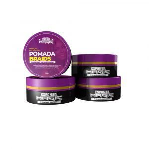 Pomada Braids 150gr - Esponja Magic