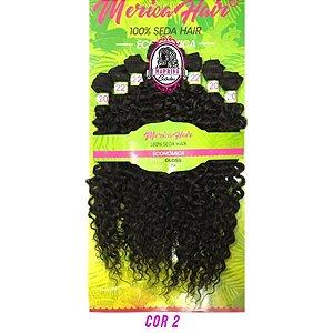 Cabelo Gloss - Mérica Hair ( COR 2 Castanho Escuro )