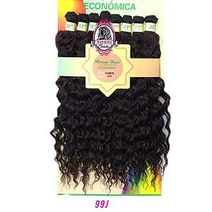 Cabelo Rainbow orgânico - Mèrica Hair 250G ( COR 99j  - Marsala )