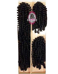 Cabelo Silvia Mérica Hair 200g ( cor 1 preto )