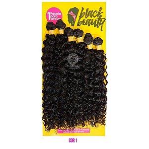 Cabelo Cachos Perfeitos 3B - Black Beauty (cor 1B- Preto)