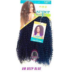 Cabelo Top Super Bohemian - Sleek ( Cor OM DEEP BLUE - Tons de Azul )