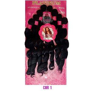 Cabelo Pink Platinum - Super Star ( cor 1B - Preto)