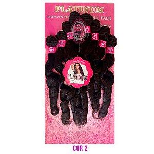 Cabelo Pink Platinum - Super Star ( cor 2 - Castanho escuro)