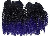 CABELO BELINHA P ( cor Purple - Preto + roxo )