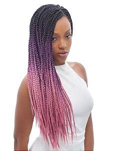 Jumbão Double Triple 400g - Zhang Hair ( Cor T1B/Pink- Preto + Rosa)