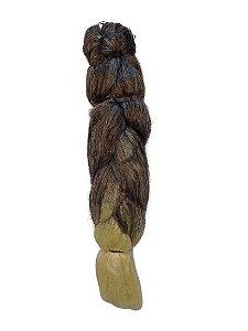 Jumbão 399g - Cherey (cor T6/613 - castanho médio + loiro claro mesclado e nas pontas)