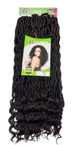 GODDESS LOCS 24″ - BRUNETTE (COR 33 - COR CHOCOLATE )
