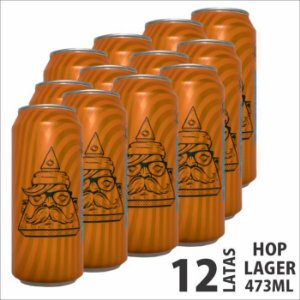 HOP LAGER 473ML PACK 12un