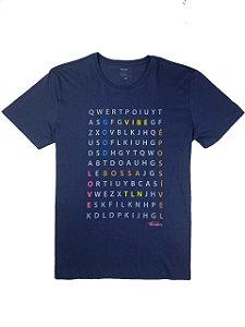 Camiseta Estampa Letras