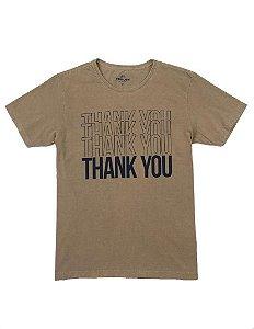 Camiseta Estampa Thank You