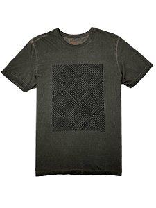 Camiseta Elaborada Tingimento a Seco