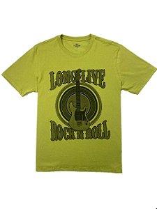 Camiseta Estampa Long Live Rock