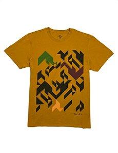 Camiseta Estampa Geométrica