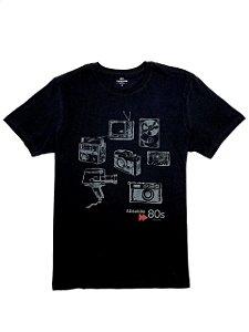 Camiseta Estampa 80s