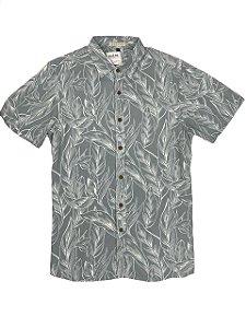 Camisa Viscose Folhas