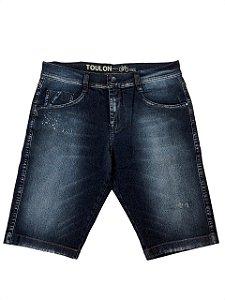 Bermuda Jeans Bainha Detonada