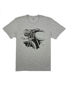 Camiseta Estampa Motocicleta