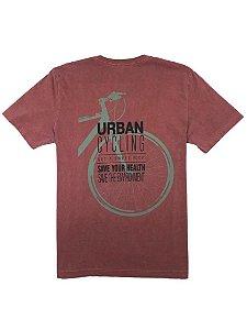 Camiseta Estampa Urban Cycling