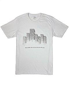 Camiseta  Estampa Edifícios