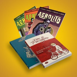 COMBO - Aerolito 1, 2 e 3 + Cesariana + Ritos de Passagem (Frete Incluso)