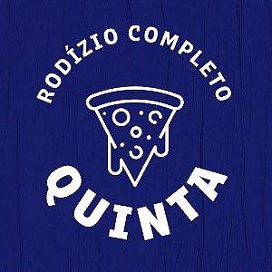 RODÍZIO DE PIZZA - EXCLUSIVO BOTECO 405 - QUINTA