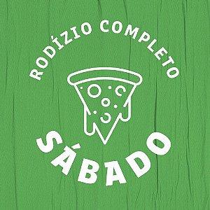 RODÍZIO DE PIZZA - SÁBADO