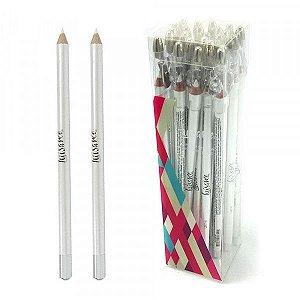 Lápis para Olhos com Apontador 24 Unidades Luisance L887-W Branco