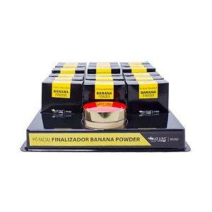 Pó Facial Finalizador Banana Powder Max Love 18 Unidades