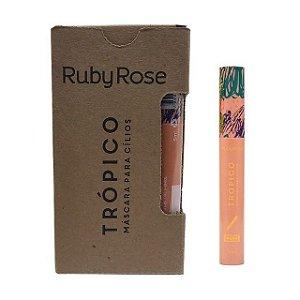 Máscara para Cílios Trópico Curva e Volume Ruby Rose HB-503 12 Unidades