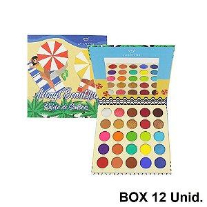 Paleta de Sombra Always Beautiful Jasmyne JS06062 12 Unidades