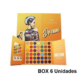 Paleta de Sombras Dream Makeup Jasmyne JS06020 6 Unidades