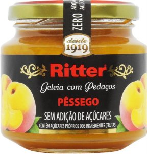 Geleia Zero Açúcar de Pêssego 260g