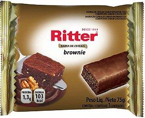 Barra de Cereal Brownie de Chocolate - 3un