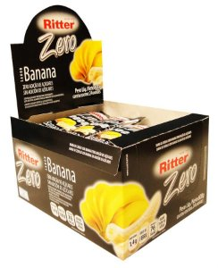 Barra de Cereal de Banana Zero Açúcar - Display com 24 un