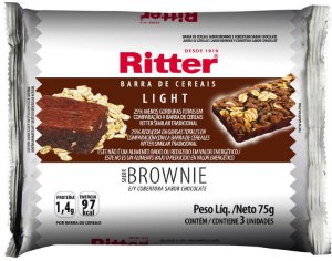 Barra de Cereal Light - Brownie - 3un