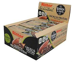 BARRA FRUTA CACAU & FRUTAS 24 un. de 30g