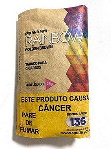 Tabaco para Cigarro Rainbow Golden Brown (Orgânico) Pct 25g