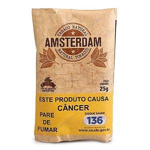 Tabaco para Cigarro Amsterdam Orgânico Pct 25g